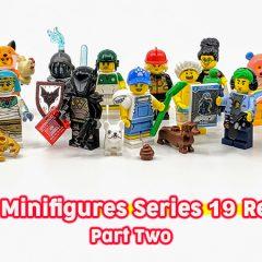 71025: LEGO Minifigures Series 19 Review Part 2