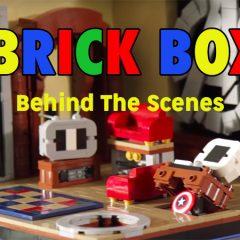 Behind The Scenes LEGO Comic-Con Brick Boxes