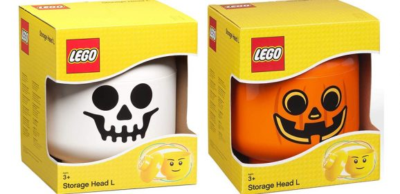 LEGO Halloween Storage Heads Pre-Order