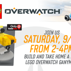 LEGO Overwatch Make & Take At Gamestop