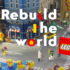 Are You Ready To Rebuild The World With LEGO
