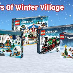 Celebrating 10 Years Of LEGO Winter Village