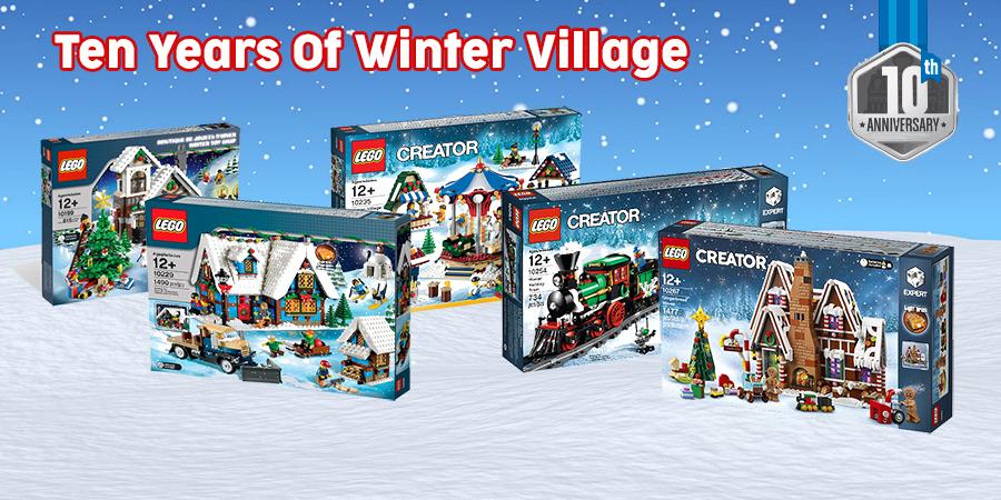 Lego Christmas Village 2020 Celebrating 10 Years Of LEGO Winter Village | BricksFanz