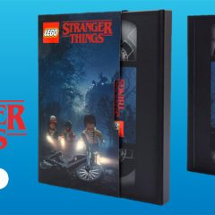 LEGO Stranger Things VHS Book Now On VIP Rewards