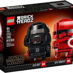 New LEGO Star Wars BrickHeadz Now Available