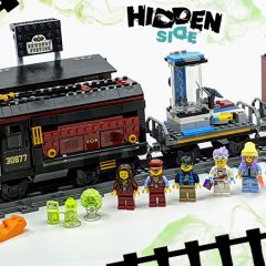 70424: Ghost Train Express Hidden Side Set Review