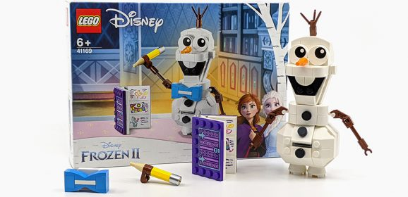 41169: LEGO Disney's Frozen II Olaf Set Review