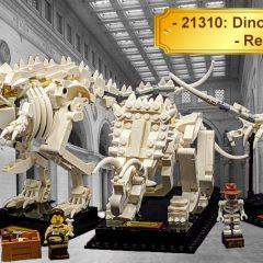 21320: LEGO Ideas Dinosaur Fossil Set Review
