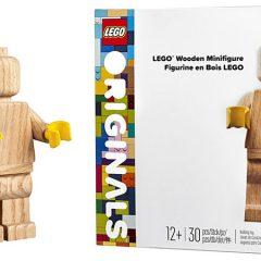 853967: LEGO Originals Wooden Minifigure Review
