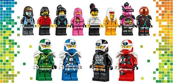 Closer Look At NINJAGO 2020 Minifigures