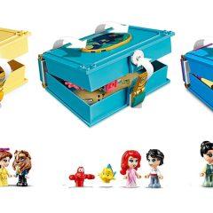New LEGO Disney Princess Storybooks Revealed