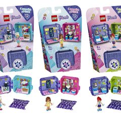 New LEGO Friends Play Cube Collectibles Revealed