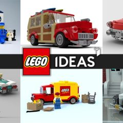 LEGO Ideas Contests Vintage Vehicle Fan Vote