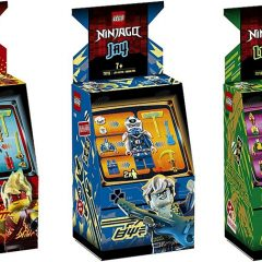 LEGO NINJAGO Avatar Arcade Capsules Revealed