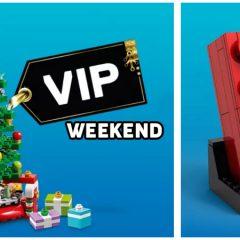 LEGO VIP Weekend Has Begun