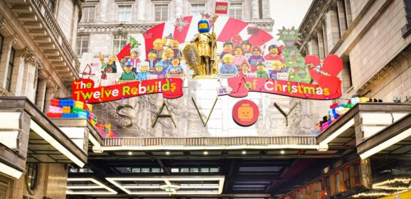 Twelve LEGO Rebuilds Of Christmas Revealed At The Savoy