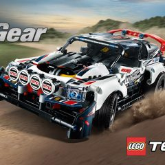 Pre-order The LEGO Technic Top Gear Rally Car