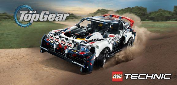 Introducing The LEGO Technic Top Gear Rally Car