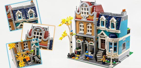 10270: LEGO Creator Expert Bookshop Set Review