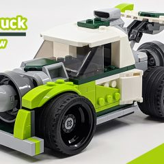 31103: LEGO Creator 3-in-1 Rocket Truck Review