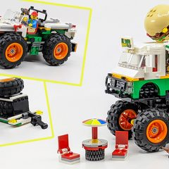 31104: Creator Burger Monster Truck Set Review