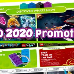 First 2020 LEGO Promotions Revealed