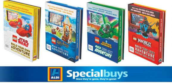 LEGO Books Coming To Aldi Specialbuys