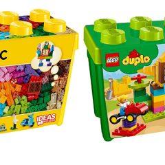 Half Price LEGO & DUPLO Brick Boxes At Tesco