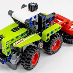 42102: LEGO Technic Mini CLAAS XERION Set Review