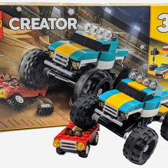 31101: LEGO Creator Monster Truck Set Review