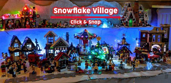 Click & Snap: Snowflake Village 2019