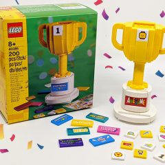 40385: LEGO Iconic Trophy Review
