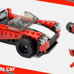 31100: LEGO Creator 3-in-1 Sports Car Set Review