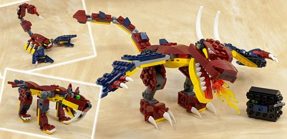 31102: LEGO Creator 3-in-1 Fire Dragon Review