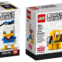 New Disney BrickHeadz Coming This February