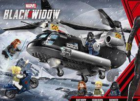 LEGO Black Widow Set Revealed