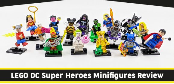 71026: LEGO DC Super Heroes Minifigures Mini Review