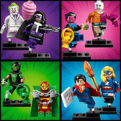 LEGO DC Minifigures Now Available At WHSmith