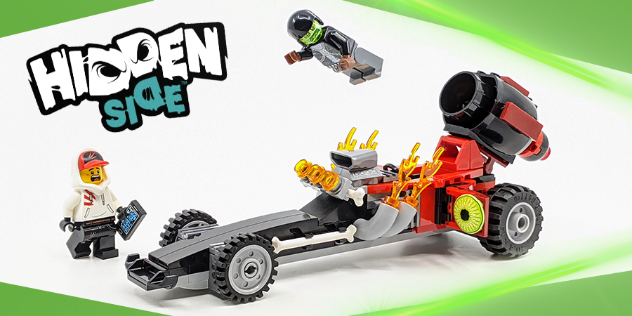 134 pcs Building Toy Lego Hidden Side 40408 Drag Racer NEW 2020