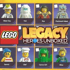 How Fans Shaped LEGO Legacy Heroes Unboxed