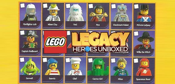 LEGO Legacy Heroes Unboxed Characters Revealed