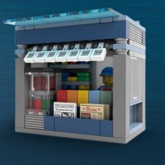 AFOL Only News Stand In-store Build Event