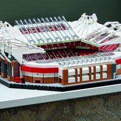 LEGO Celebrates 110 Years Of Old Trafford