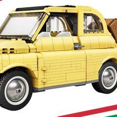 Introducing The LEGO Creator Expert Fiat 500