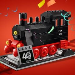 Get Your Free LEGO Trains 40th Anniversary Set Now