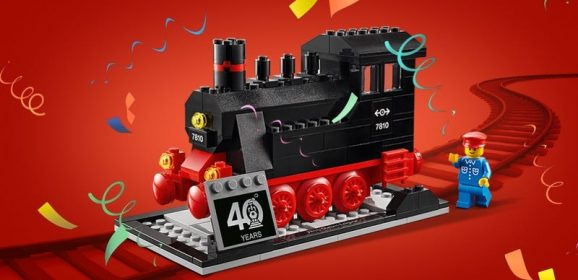 LEGO Trains 40th Anniversary Set Promotion Last Day