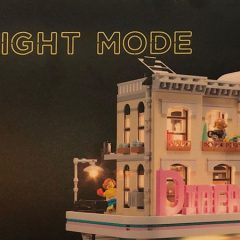 LEGO Testing Night Mode Lighting Kits