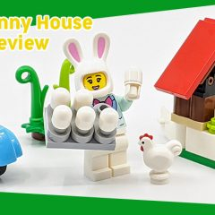853990: Easter Bunny House Set Review