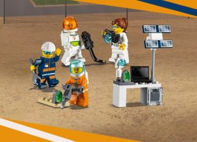 Free LEGO Space Minifigures With Selected Purchases