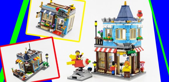 31105: LEGO Townhouse Toy Store Set Review